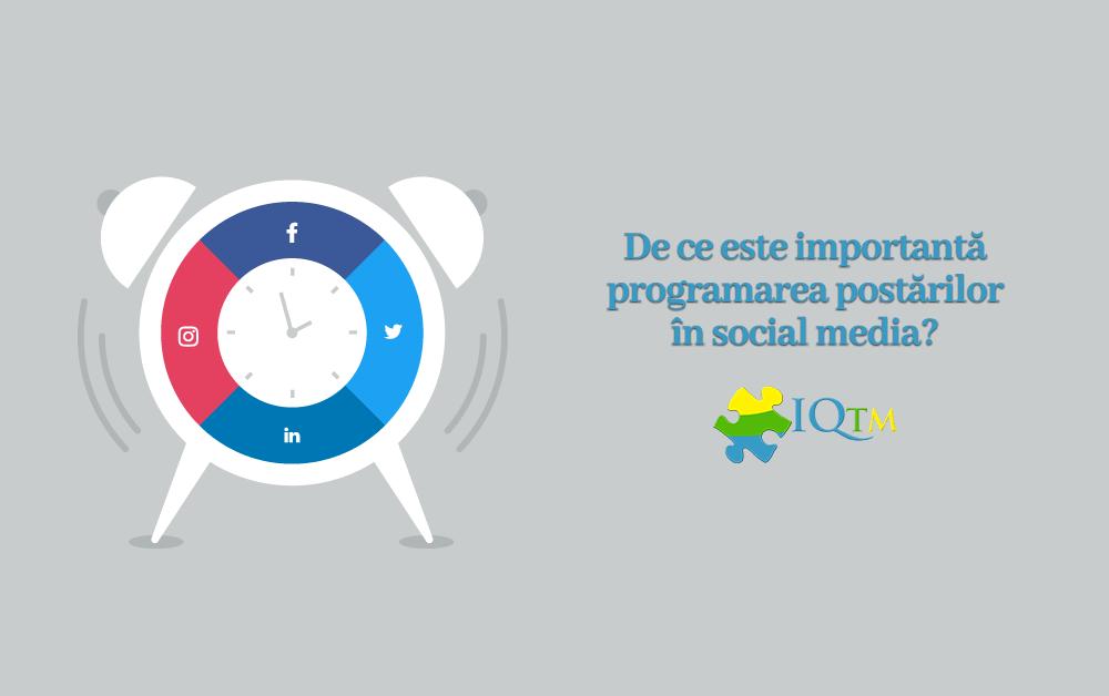 Programare postări social media