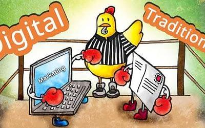 Relația strânsă între mesajul transmis în mediul online și cel prezent pe toate materialele publicitare