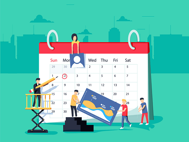 Calendar editorial