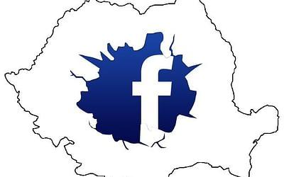 Situatia Facebook în Romania