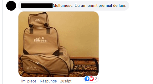 Câștigător Adress Travel