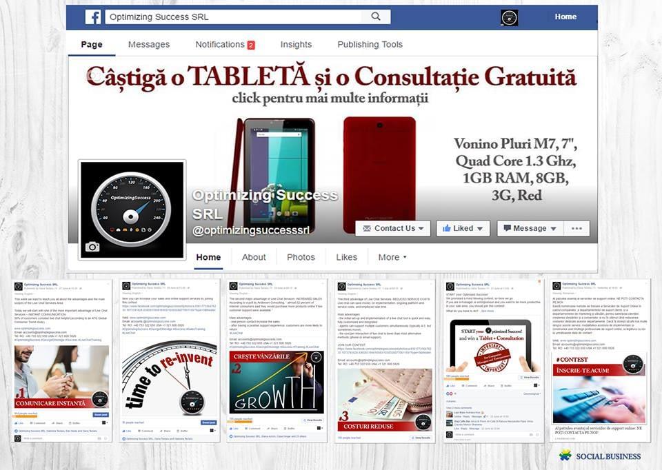 campanie social media optimizing