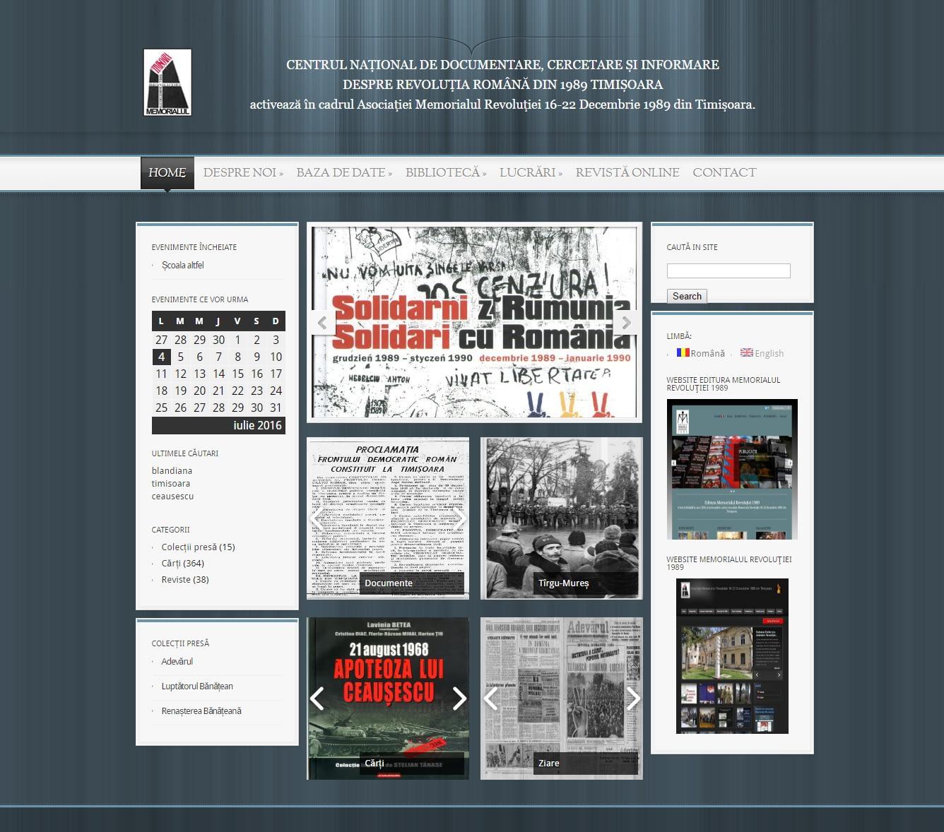 Website Prezentare