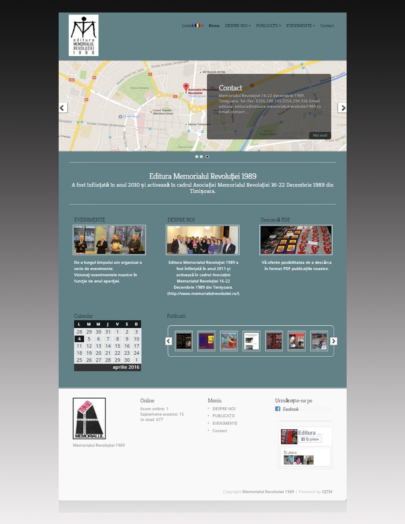 Website Advance bilingv