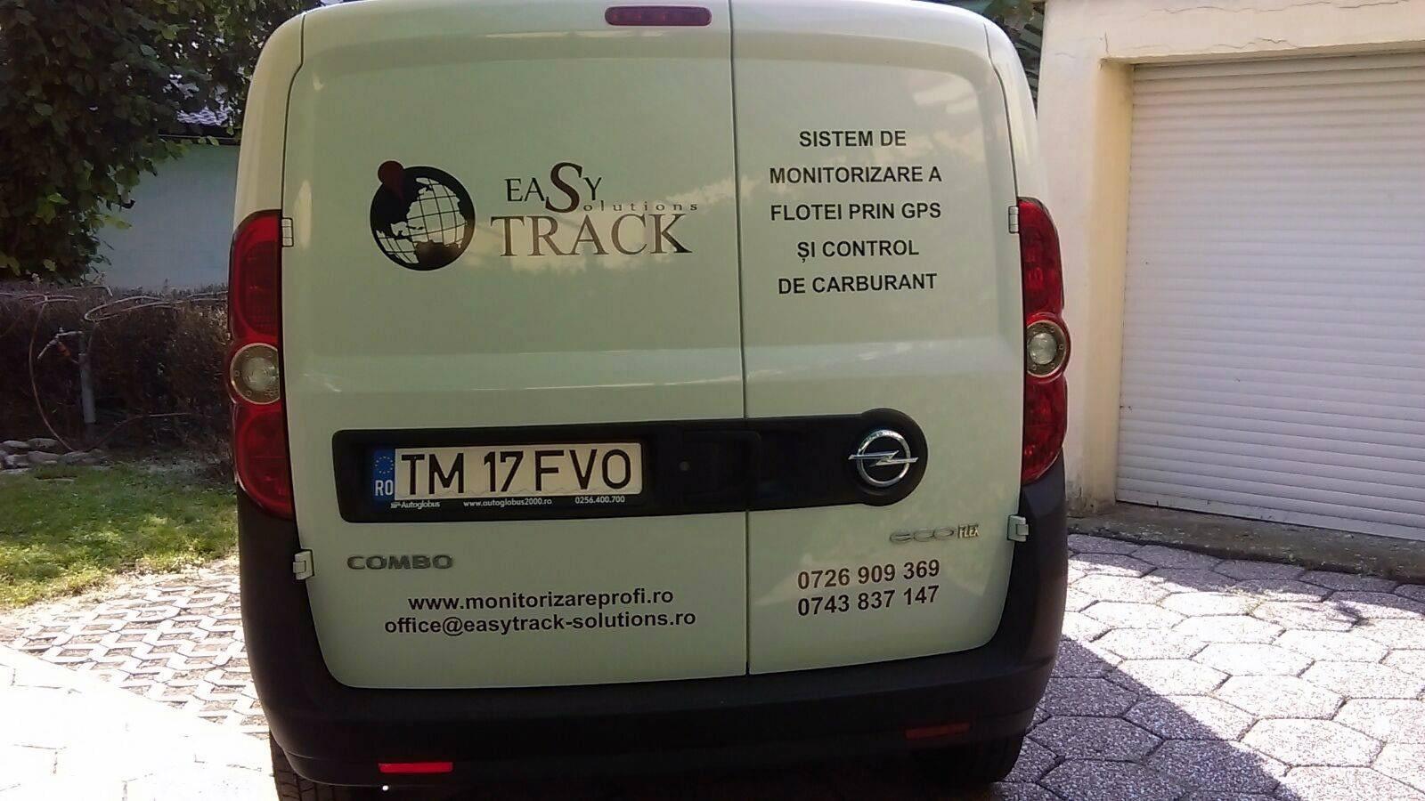 inscripționare auto easy track solutions